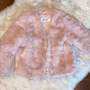H&M fuzzy jacket